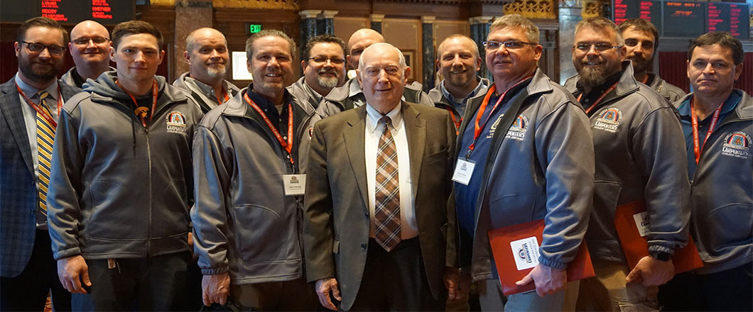 Carpenter's Legislative Day with Senator Wally Horn